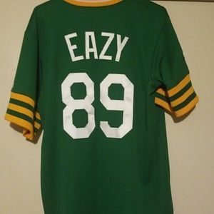 separation shoes a30ff 5d3b3 Oakland As G Eazy jersey